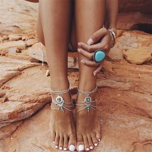 Jewelry - Pair Of Summer Beach Anklet
